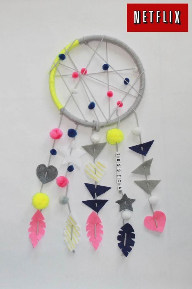 KID DREAM CATCHER -handmadebykelly.com