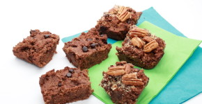 Handmadebykelly.com; Healthy Gluten free Brownie Recipe