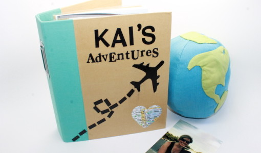DIY Travel Journal - handmadebykelly.com