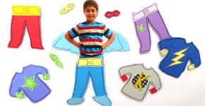 superhero magnet; handmadebykelly.com