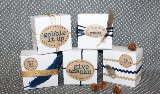 Leftover Thanksgiving Labels; handmadebykelly.com; onlinelabels.com