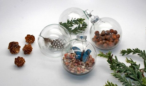 MNN.com; handmadebykelly.com DIY Nature Christmas Ornaments