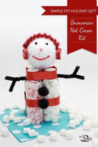 Hot Cocoa Snow Man Kit; thestir.com; handmadebykelly.com
