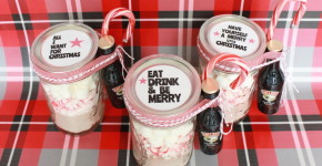 DIY Hot Cocoa Kit Holiday Gift; onlinelabels.com; handmadebykelly.com