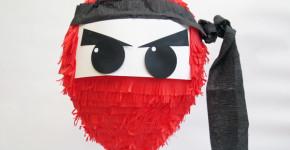 ninja-party-pinata handmadebykelly.com; sheknows.com