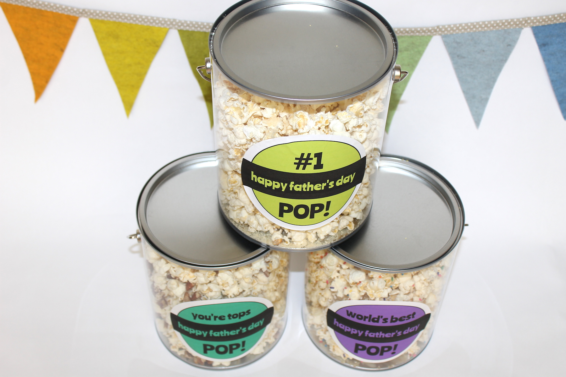 final 5Father's Day Popcorn Recipes- handmadebykelly.com- onlinelabels.com