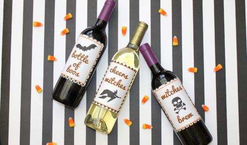 halloween wine labels + free printable; onlinelabels.com; handmadebykelly.com IMG_3304