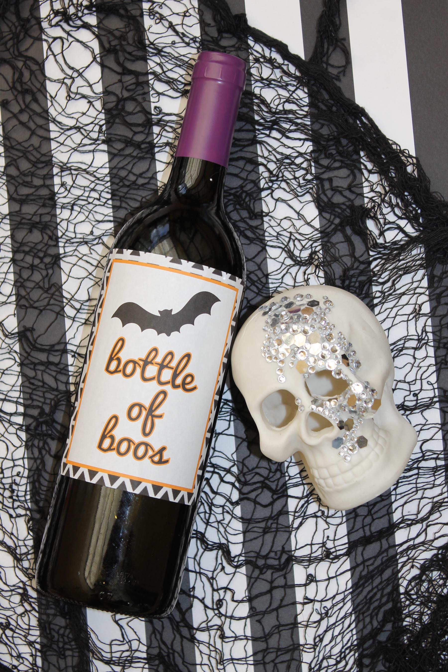 halloween wine labels + free printable; onlinelabels.com; handmadebykelly.com IMG_3361