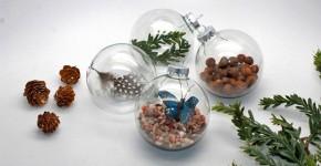 MNN.com; handmadebykelly.com DIY Nature Christmas Ornaments