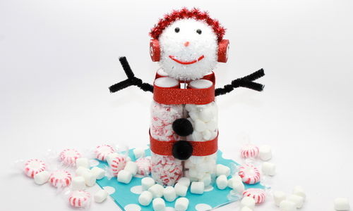 Hot Cocoa Snow Man Kit; thestir.com; handmadebykelly 1
