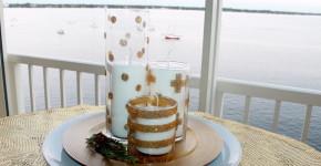 candle vase glitter diy 1 handmadebykelly.com; forrent.com