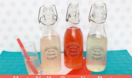 infused-vodka-handmadebykelly-onlinelabels host a vodka sampling party