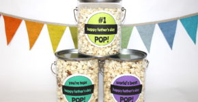Father's Day Popcorn Recipes- handmadebykelly.com- onlinelabels.com